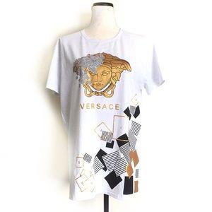 Versace Collection T-Shirt White 3XL 100% Cotton